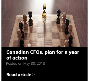 Canadian CFOs, plan for a year of action