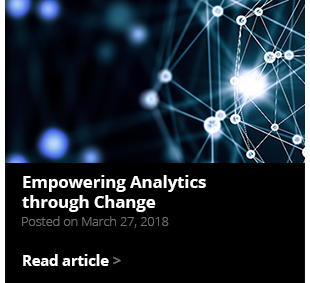 Empowering Analytics through Change