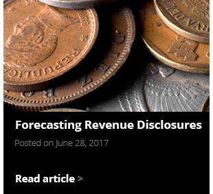 Forecasting Revenue Disclosures