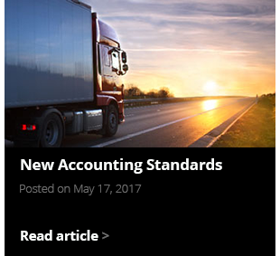 New Accounting Standards