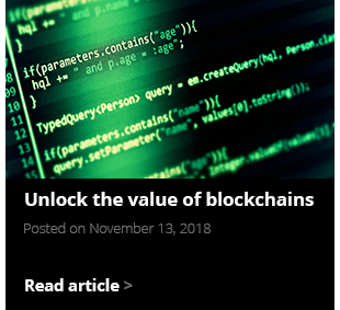 Value of blockchains