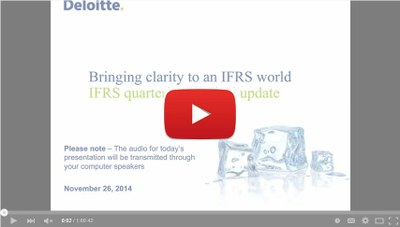 IFRS Q4 2014 Update