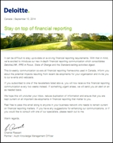 Financial Reporting Insights