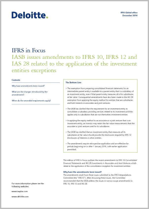 investment entity under ifrs 10 pdf