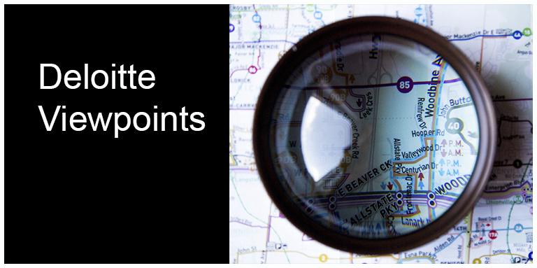 Deloitte viewpoints