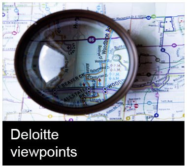 Deloitte viewpoints