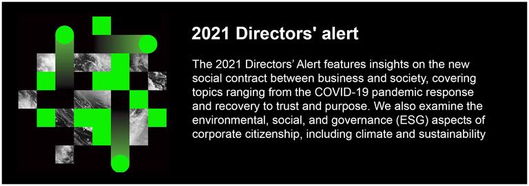 2021 Directors' alert