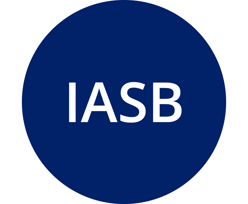 IASB (International Accounting Standards Board) (blue)