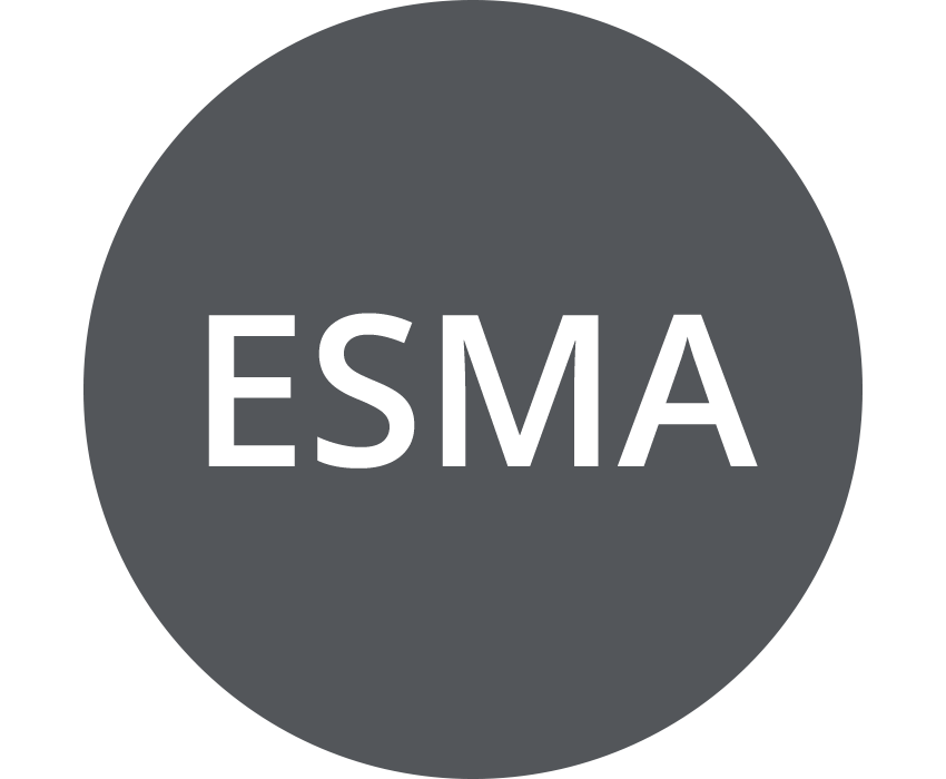 ESMA (European Securities and Markets Authority) (dark gray)