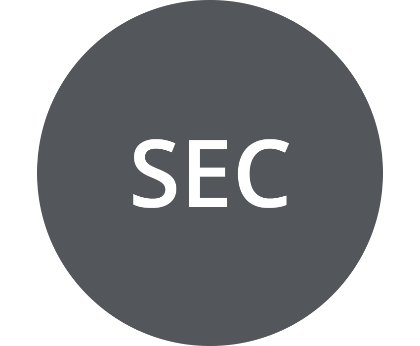 SEC (US Securities and Exchange Commission) (dark gray)