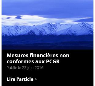 Non-GAAP financial measures