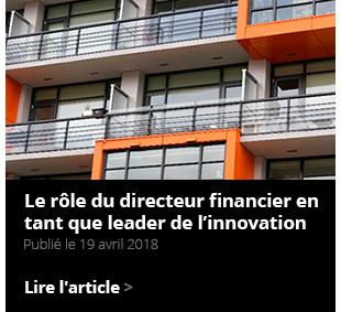 Le rôle du directeur financier en tant que leader de l'innovation