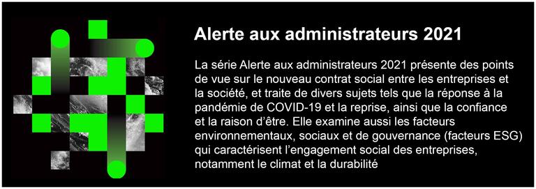 Alerte aux administrateurs 2021
