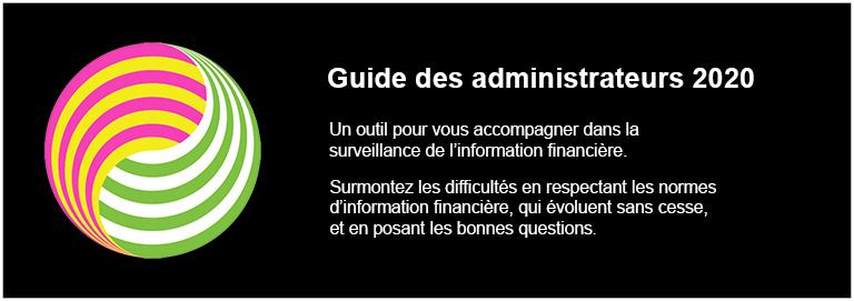 Guide d'examen de l'information financière annuelle